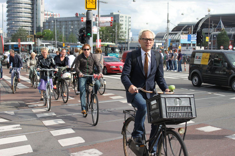 Копенгаген қаласы кептелістен қалай құтылды?