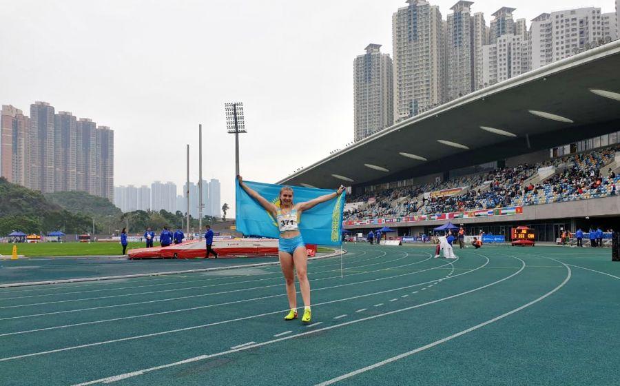 Қазақстандық жеңіл атлет Тайландтағы турнирде топ жарды