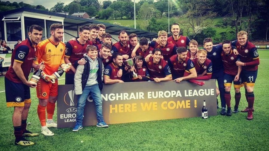 Уэльсте студенттер командасы Еуропа лигасына жолдама алды
