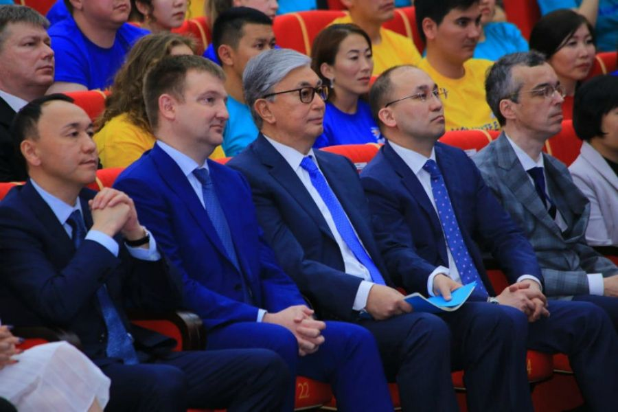 Президенттің қатысуымен Қостанайда жастар форумы өтті