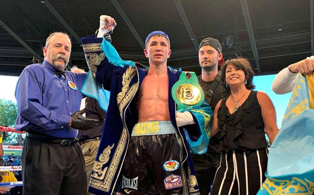 Мадияр Әшкеев WBC жүйесіндегі чемпиондық белбеуге ие болды