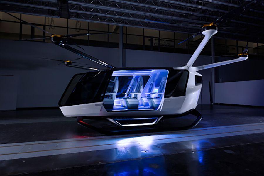 Аэротаксидің алғашқы прототипі жасалды