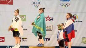Қазақстандық ауыр атлет жасөспірімдер арасында әлем чемпионы атанды
