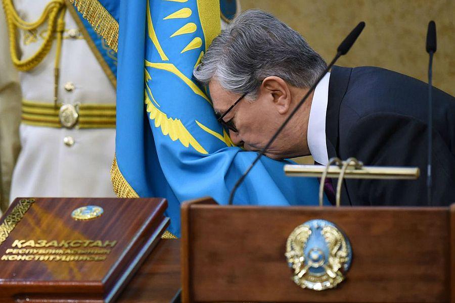 Президент Қасым-Жомарт Тоқаев Қазақстан халқына ант берді