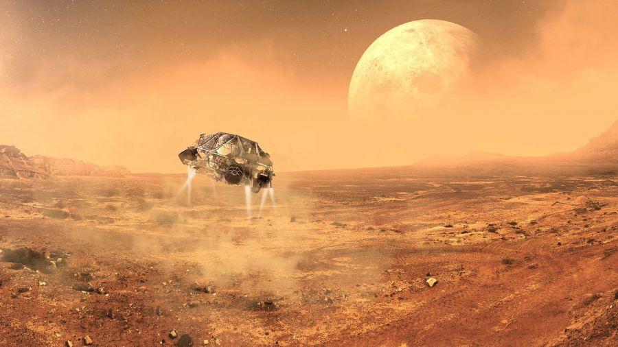 Марстағы тіршілік иесі қандай болуы мүмкін?