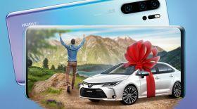 Huawei смартфонын сатып алғандар арасында 3 автокөлік ойнатылады