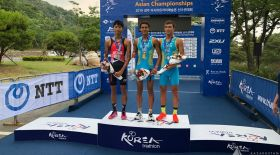 Қазақстандықтар триатлоннан Азия біріншілігінде алтын және қола жүлде жеңіп алды