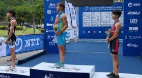 Александр Тен триатлоннан Азия чемпионы атанды