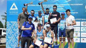 Ел чемпионатында Алматы триатлоншыларына тең келер қарсылас табылмады