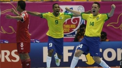 Бразилия бес дүркін әлем чемпионы атанды