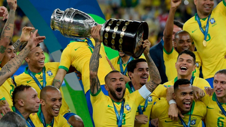 Бразилия құрамасы Америка Кубогында топ жарды