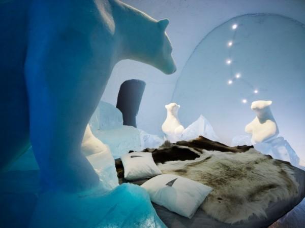 Лапландияда мұз сарайы ашылды
