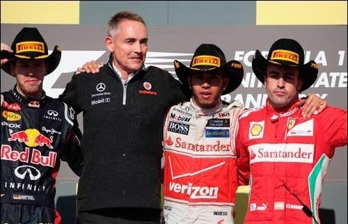 2012 F1 көлік бәйгесінің Америкадағы жарысы аяқталды