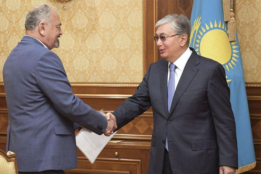 Мемлекет басшысы Тұңғышбай Жаманқұловты қабылдады