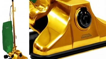 Миллион доллар тұратын алтынмен апталған шаңсорғыш