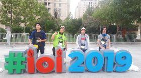 Қазақстандық оқушылар Әзербайжандағы олимпиадада төрт медаль иеленді