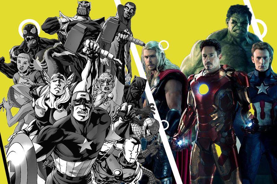 Кино және комикс: Экранды жаулаған қаһармандар