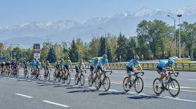 Tour of Almaty веложарысын Eurosport пен Qazsport арналары көрсетеді