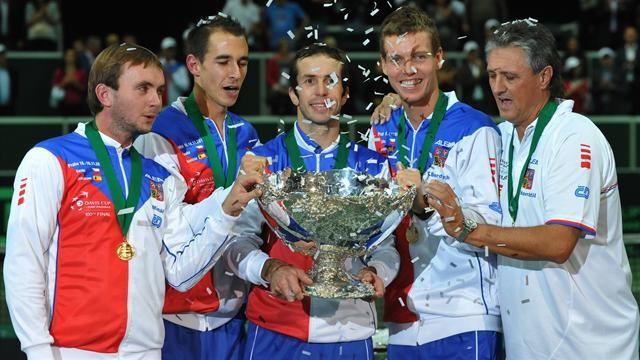 Теннистен Чехия құрамасы Дэвис кубогінің иегері атанды