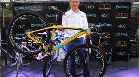 Александр Винокуровтың велосипеді  Павлодар тұрғынына бұйырды