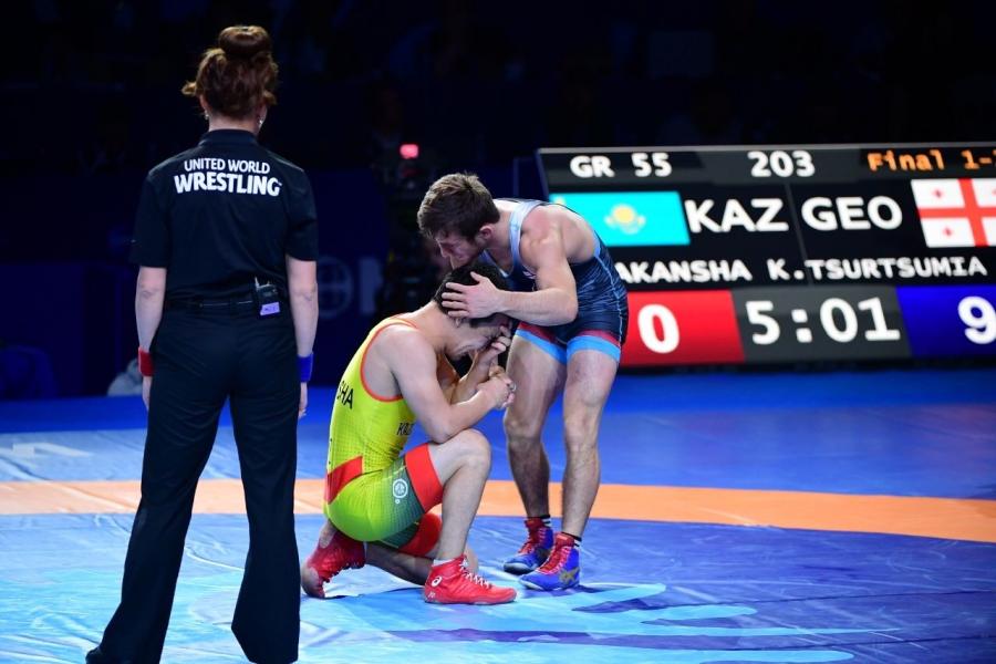 Қорлан Жақанша – әлем чемпионатының күміс жүлдегері