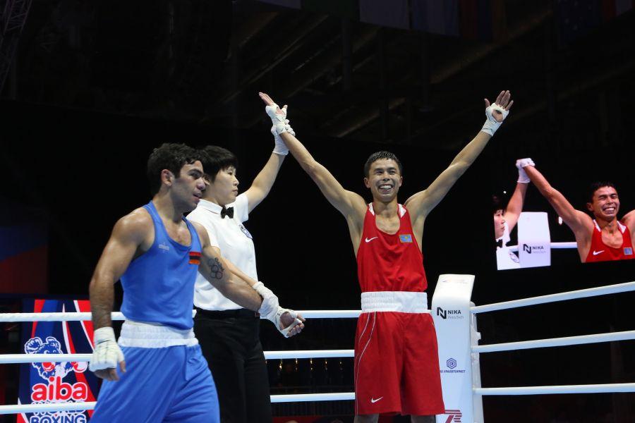 Әлем чемпионаты: Сәкен Бибосынов қоржынға алғашқы жүлдені салды