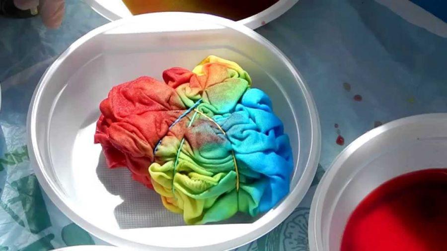 Сән әліппесі: Tie-dye стилі