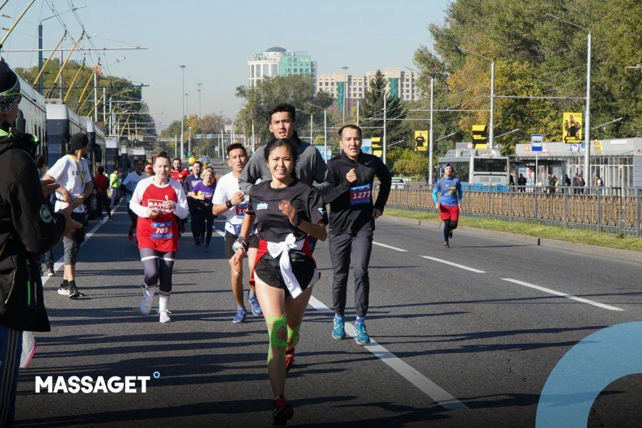 Алматы жартылай марафонына 26 елден келген әуесқой спортшылар қатысты