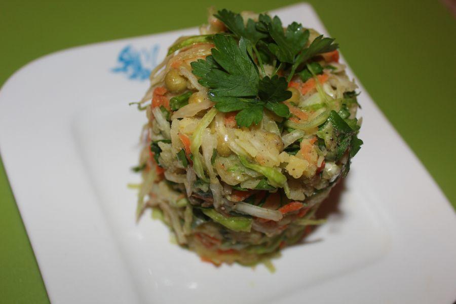 Ішекті тазартуға арналған салаттар