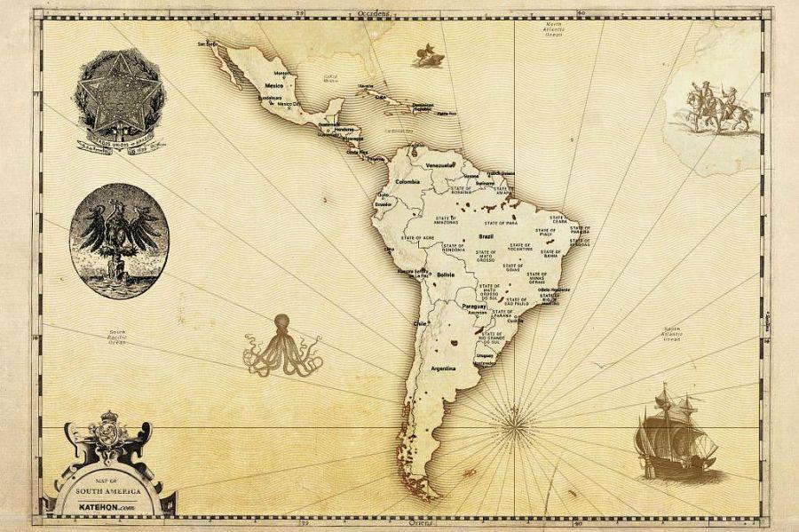 """Неге Оңтүстік Америка құрлығы """"Латын Америкасы"""" деп аталады?"""
