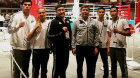 Қазақ боксшылары Токиода топ жарды