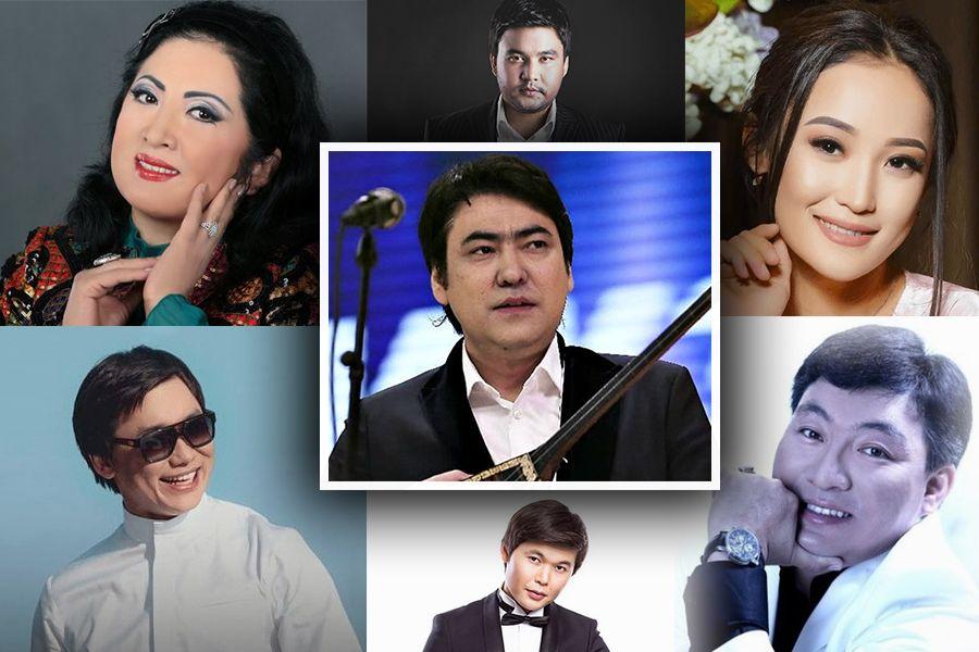 Мейрамбек Бесбаевпен дуэт орындаған әншілер