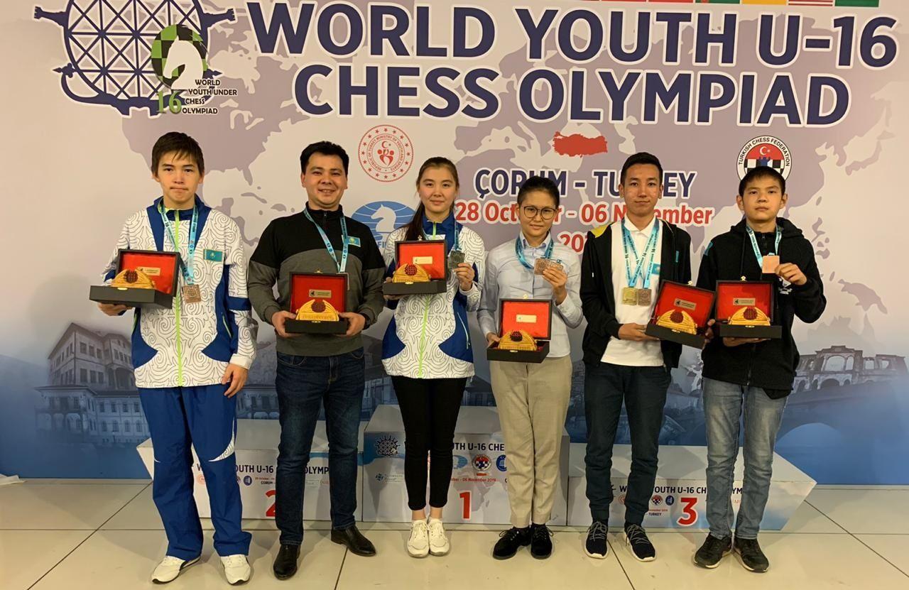 Жасөспірімдер Олимпиадасында шахматшыларымыз үздіктер қатарынан көрінді
