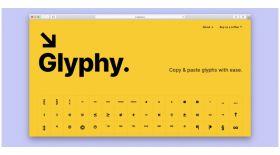 Онлайн-олжа: Glyphy.io – Unicode-символдар жинағы