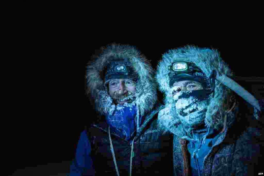 Екі ғалым Арктикадағы 1800 шақырым жолды жаяу жүріп өтті