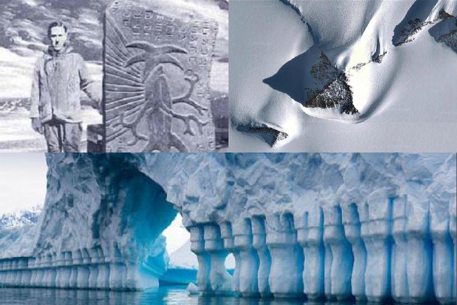 Антарктидадағы сырлы нысандар