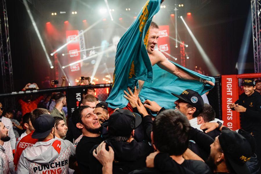 Жалғас Жұмағұлов UFC-мен келісімшартқа отырды