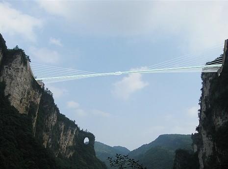 2013 жылы әлемдегі ең үлкен әйнек көпір салынбақ