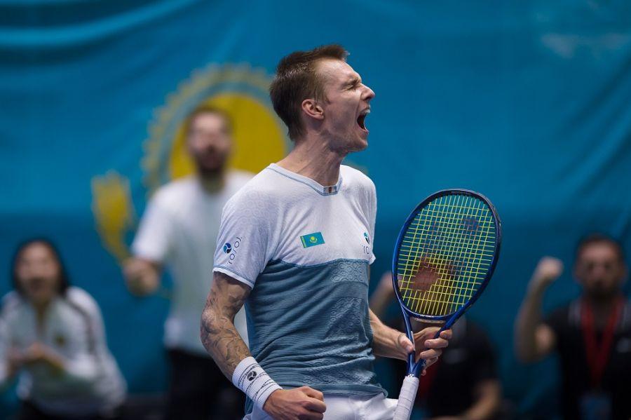 Теннистен Қазақстан құрамасы Дэвис Кубогының финалдық кезеңіне шықты