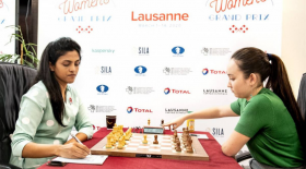 Жансая Әбдімәлік әлемнің үздік шахматшылар үштігіне енді