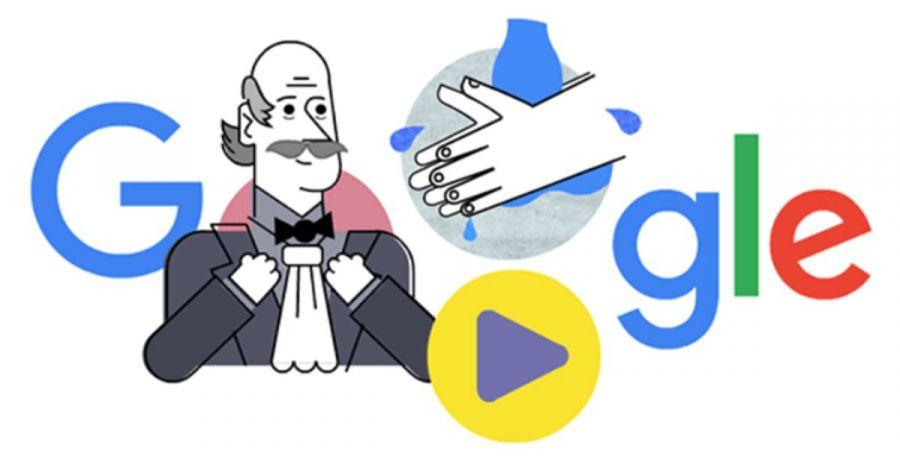 GoogleDoodles қол жууды еске салды