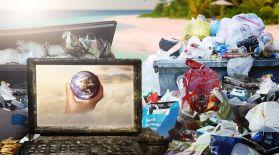 Пластикті ыдырататын бактерия