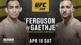 UFC 249 турнирі өтпейді