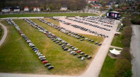Даниядағы карантин ережесін бұзбаған drive-in концерт