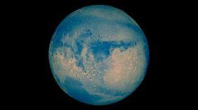Марс ертеде көк түсті болған