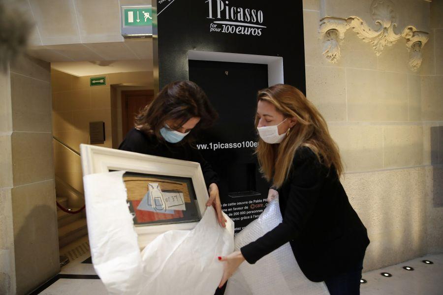 Лотореядан Пикассоның картинасын ұтып алған азамат