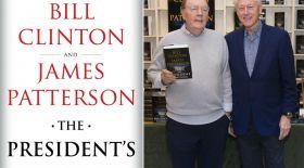 Билл Клинтон детективті роман жазады