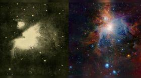 Қазіргі және 100 жыл бұрынғы ғарыш суреті