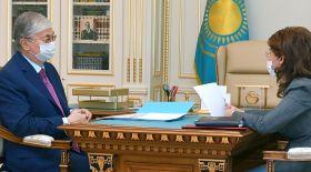 Мемлекет басшысы Ақпарат және қоғамдық даму министрін қабылдады