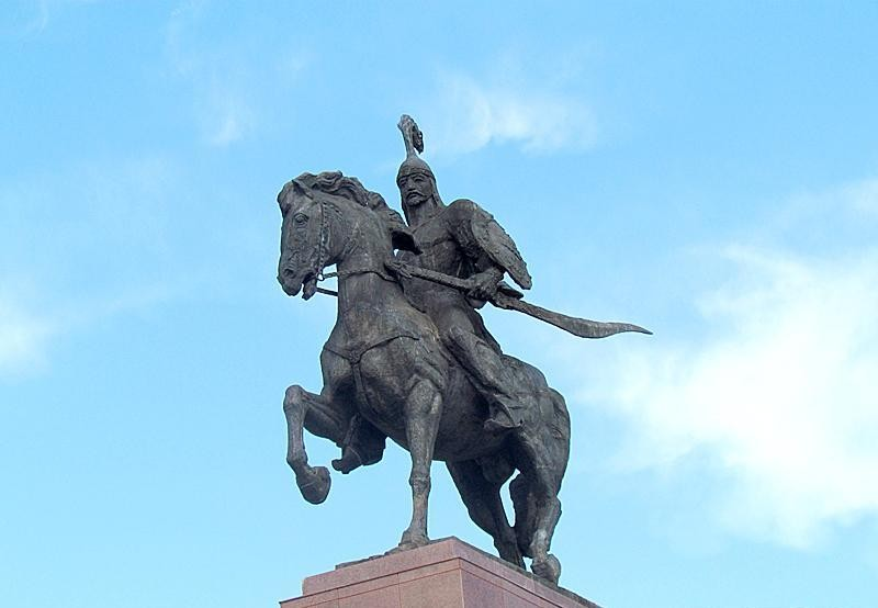 Астанада Манас ескерткіші бой көтермек